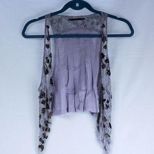 Women's Free People Lavender Vest